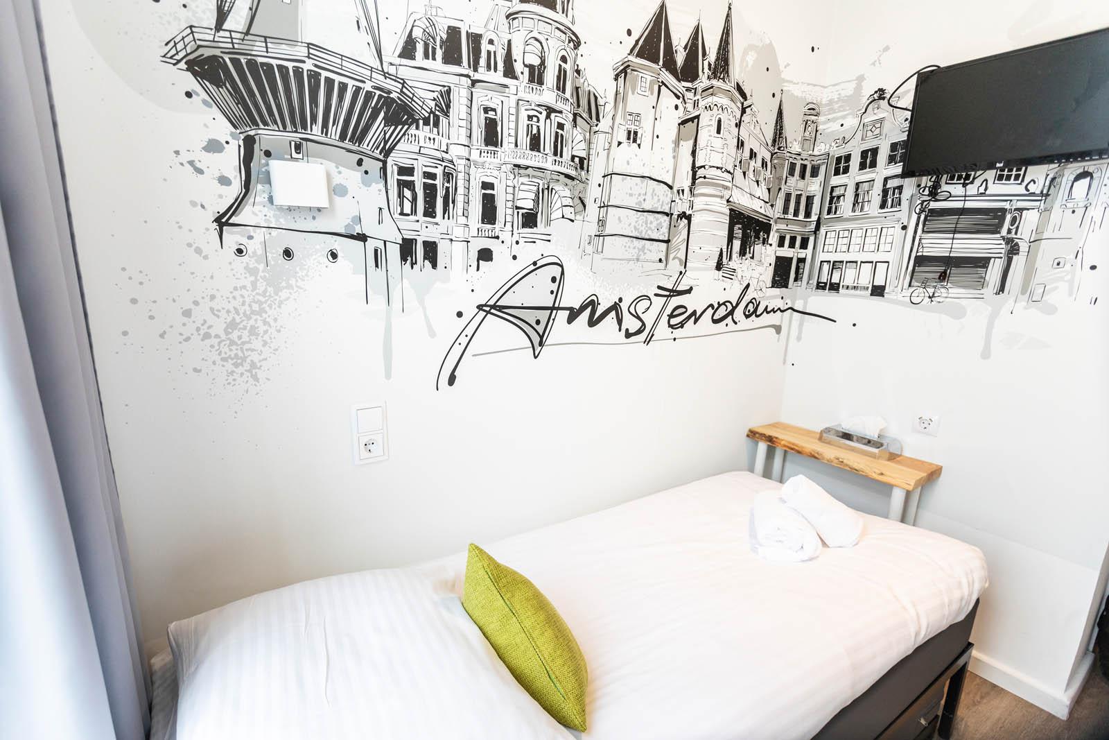 Single Room Hotel Pagi Amsterdam Book Directly